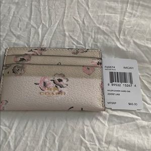 Coach wildflower card case